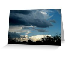 GATHERING OF CLOUDS....... Greeting Card
