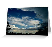 CLOUDS OVER MY HEAD Greeting Card