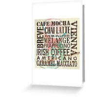 Coffee of the Day 1 Cream Greeting Card