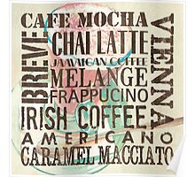 Coffee of the Day 1 Cream Poster