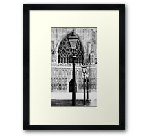 I Saw The Light Framed Print