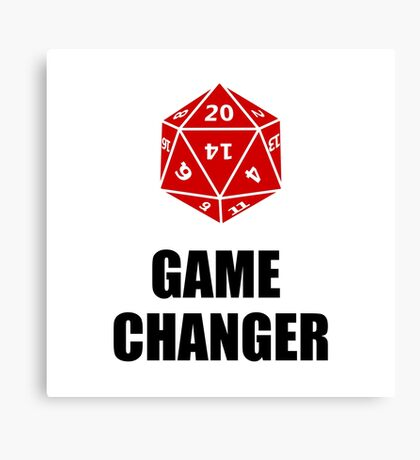 Game Changer Canvas Print