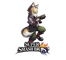 Super Smash Bros. 3DS/Wii U Fox Photographic Print
