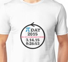 Celebrate Pi Day 2015! Unisex T-Shirt