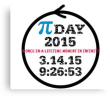 Celebrate Pi Day 2015! Canvas Print
