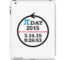Celebrate Pi Day 2015! iPad Case/Skin