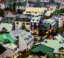 Tiny Reykjavik! by Tim Constable