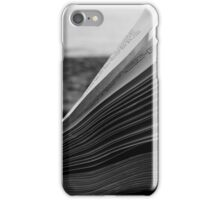 A book by the sea  iPhone Case/Skin