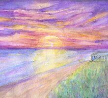 Flagler Beach Sunrise by Roz Abellera Art Gallery