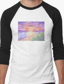 Flagler Beach Sunrise Men's Baseball ¾ T-Shirt