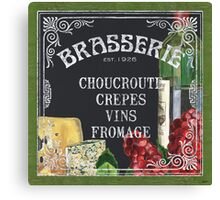Brasserie Paris Canvas Print