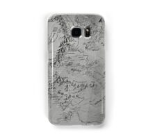 Middle Earth Map Samsung Galaxy Case/Skin