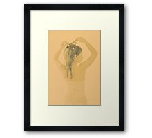 i'm cross Framed Print