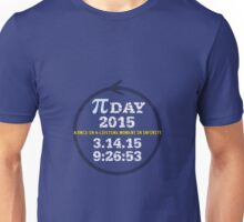 Celebrate Pi Day 2015 Unisex T-Shirt