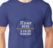Celebrate Pi Day 2015 Unisex T-Shirt