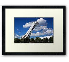 Olympic Stadium ~ Montreal Framed Print