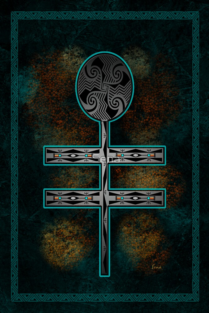 Dragonfly Cross by Sena