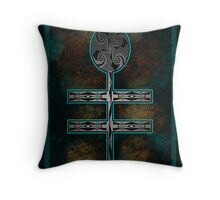 Dragonfly Cross Throw Pillow