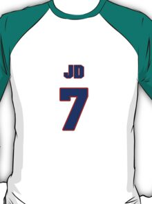 National baseball player JD Closser jersey 7 T-Shirt