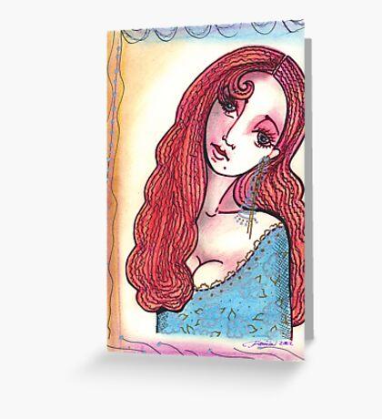 Irish Rose Greeting Card