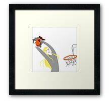 THRANDUIL SLAM DUNKS GIMLI  Framed Print