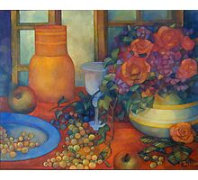 still life with roses Photographic Print