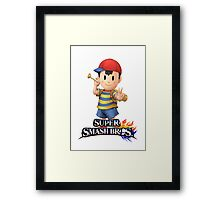 Super Smash Bros. 3DS/Wii U Ness Framed Print