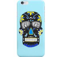 Theta Black Skull iPhone Case/Skin