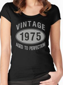 Vintage 1975 Birthday Women's Fitted Scoop T-Shirt