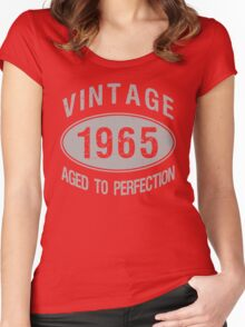 Vintage 1965 Birthday Women's Fitted Scoop T-Shirt