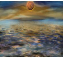 Mystery Sunset Photographic Print