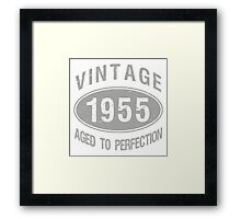 Vintage 1955 Birthday Framed Print