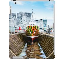 Dazzle Ship iPad Case/Skin