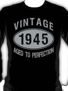 Vintage 1945 Birthday T-Shirt