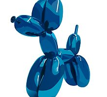 baloon dog by MartaOlgaKlara