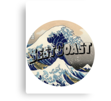 "Best Coast ""K"" Canvas Print"