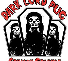 dark lord pug crimson coffin by darklordpug