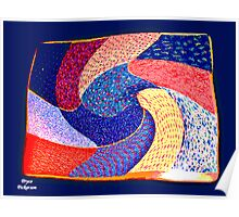 Patchwork Placemat Poster