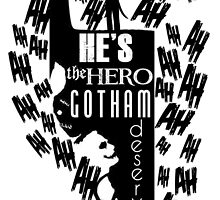the heart of gotham by AdmConnor