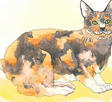 Calico Cat by artworkbySARA