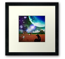 A Most Unusual Evening Framed Print
