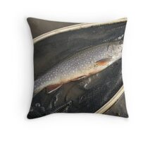 FISH....In a net... Throw Pillow