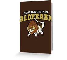 Aderaan State Home of the Nerfs! Greeting Card
