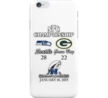 NFC Championship iPhone Case/Skin