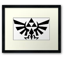 Three Forces Framed Print