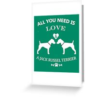 jack russel 2 Greeting Card