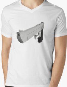 Desert Eagle Mens V-Neck T-Shirt