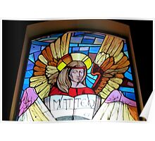 Matteo .. in Stained Glass Poster