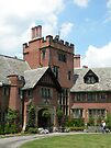 main entrance, Stan Hywet Hall by WonderlandGlass