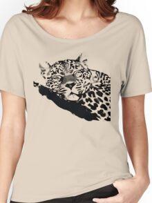 LEOPARD VECTOR Women's Relaxed Fit T-Shirt